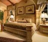 mobila dormitor antichizata