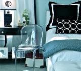 dormitor alb cu negru