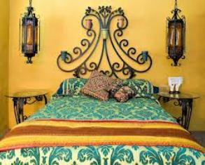dormitor fier forjat