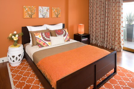 model portocaliu