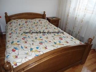 mobila dormitor din stejar