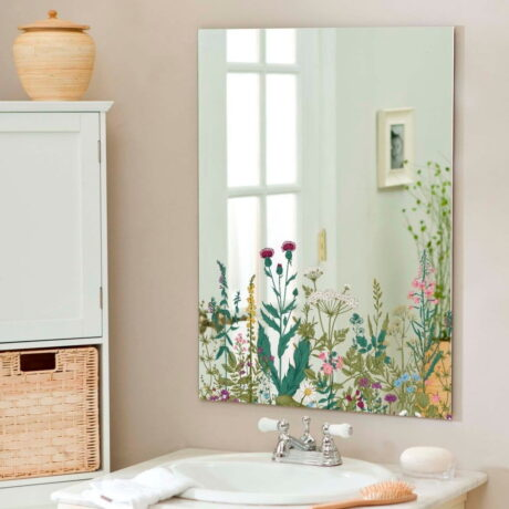 Oglindă de perete Surdic Espejo Decorado Primrose, 50 x 70 cm