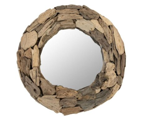 Oglinda insertii din lemn